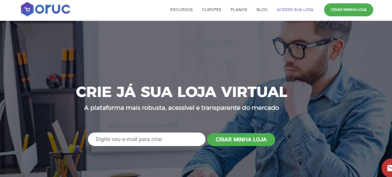 Melhor loja virtual Oruc
