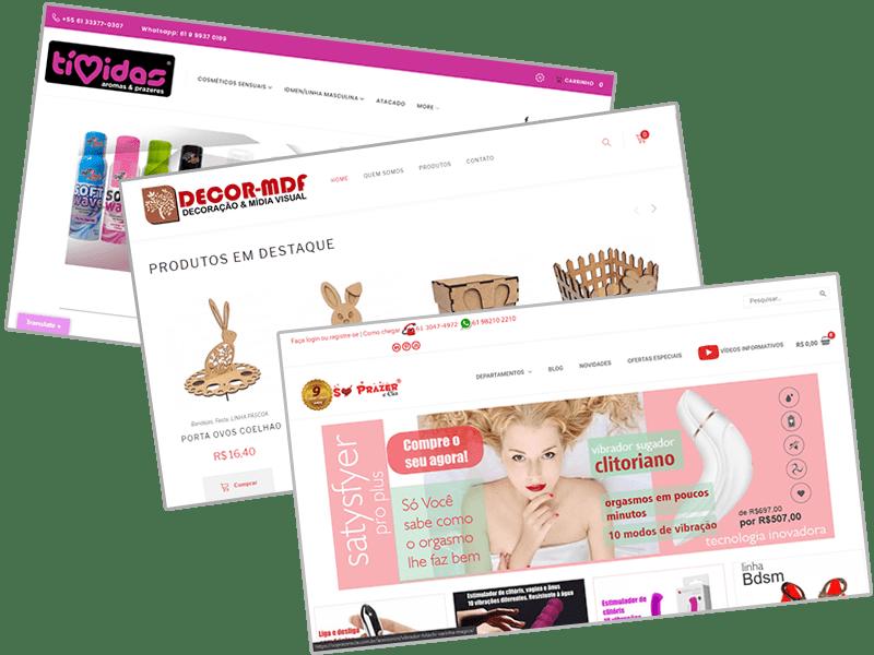Clienttes de loja virtual