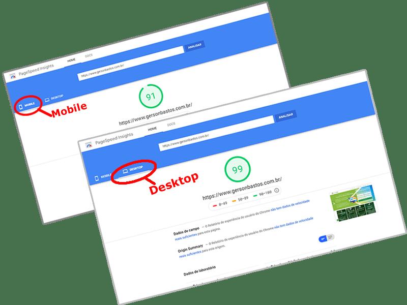 otimização pagespeed para WordPress